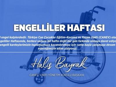 10 - 16 Mayıs Engelliler Haftası Kutlu Olsun