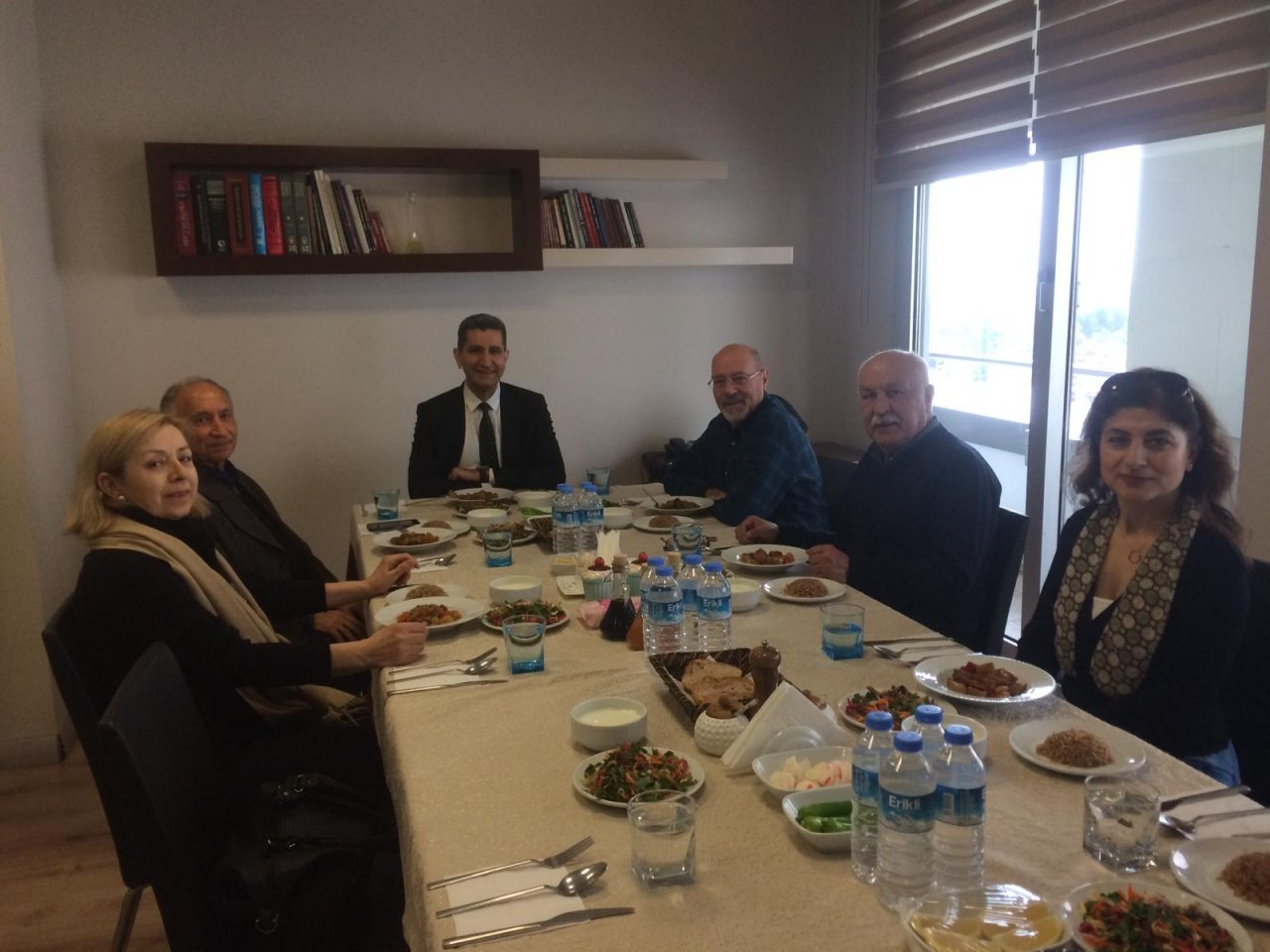 09.02.2019 Tarihinde Mütevelli Heyet Başkanı Dr. Halis Bayrak Başkanlığında Olağan Mütevelli Heyet Toplantısı Yapılmıştır